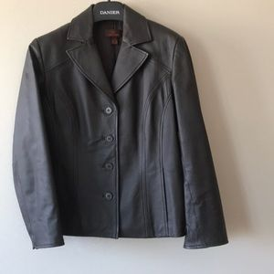 Danier leather blazer